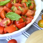 Spicy Marinated Tomatoes