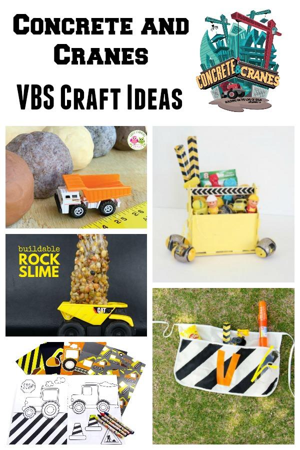 Concrete & Cranes Craft Ideas