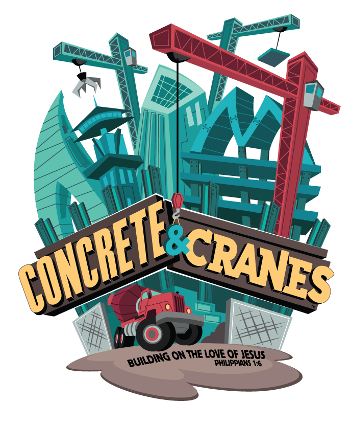 Concrete & Cranes VBS Decor Ideas #ConcreteandCranes #VBS #Construction