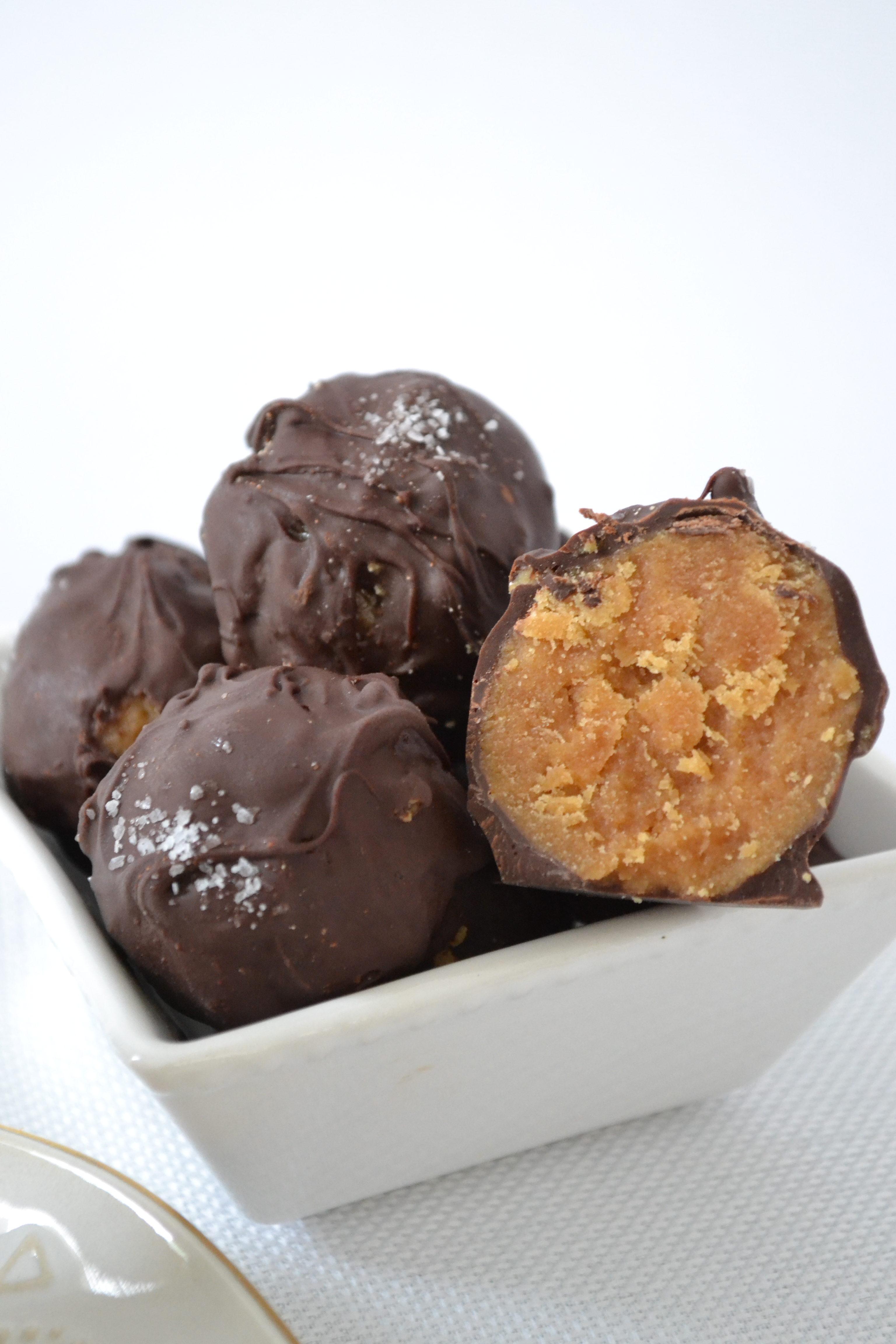 Guilt Free Peanut Butter Balls