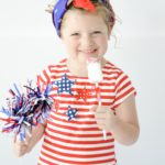 Patriotic Marshmallow Pops are a quick and easy snack idea to make for the 4th of July!