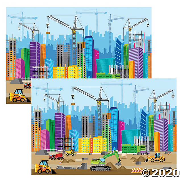 Concrete & Cranes VBS Decor Ideas