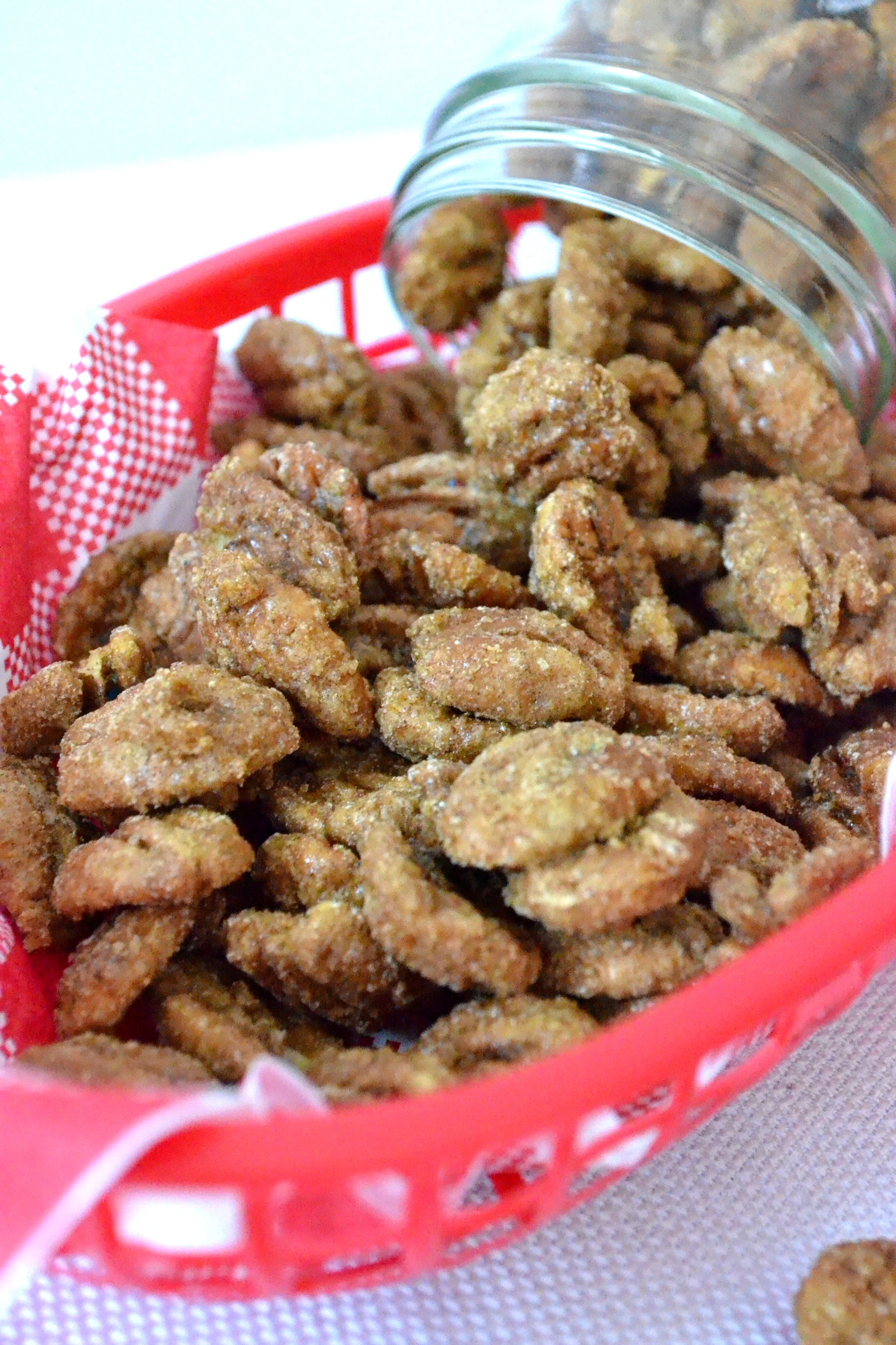 Sugar Roasted Pecans