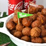 Coca-Cola Peach Pepper Jelly Meatballs