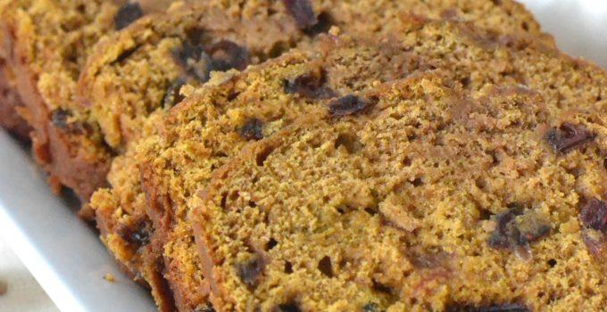 Cranberry Pumpkin Buttermilk Bread