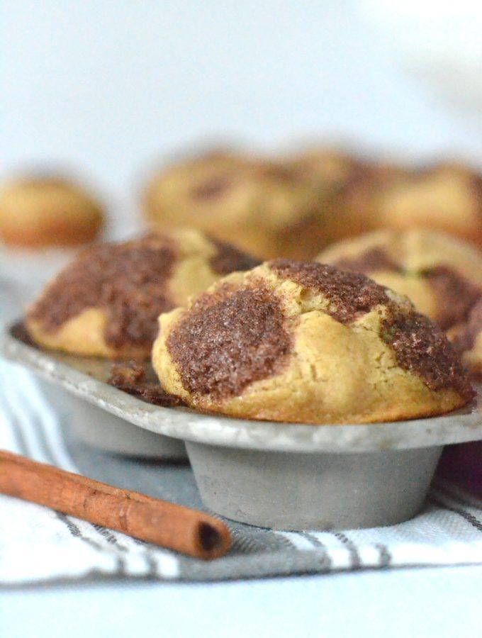 Cinnamon Raisin Buttermilk Muffins