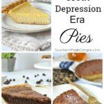 Depression Era Pies