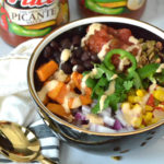 Southwest Sweet Potato Taco Bowls - a zesty bowl of wholesome goodness perfect for taco night! #Ad #PaceTacoNight