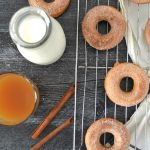 Apple Cider Cinnamon Sugar Doughnuts