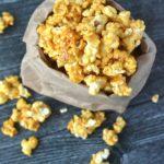 Caramel Apple Bourbon Popcorn