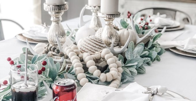 How to Create a Winter White Harvest Tablescape