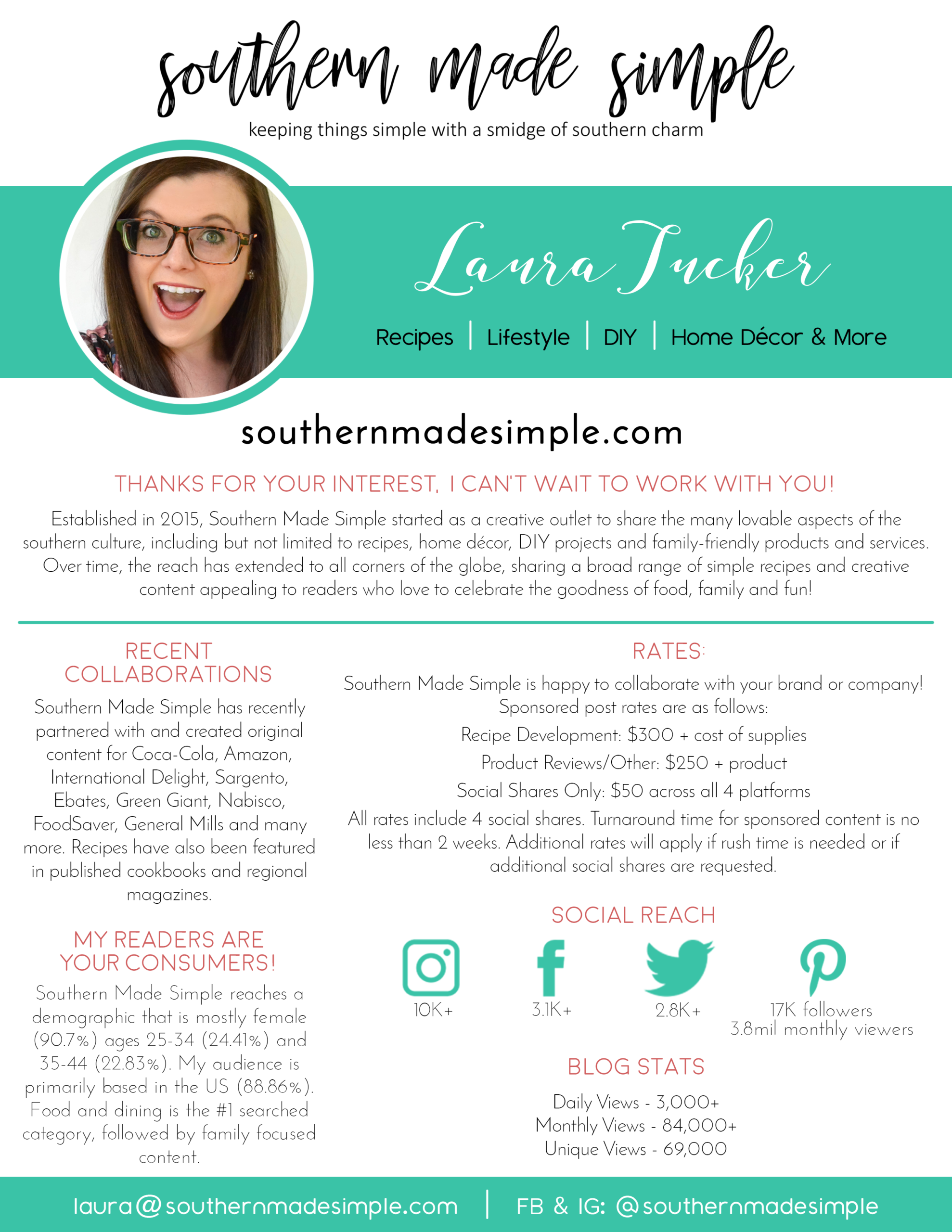 Southern Made Simple Media Kit