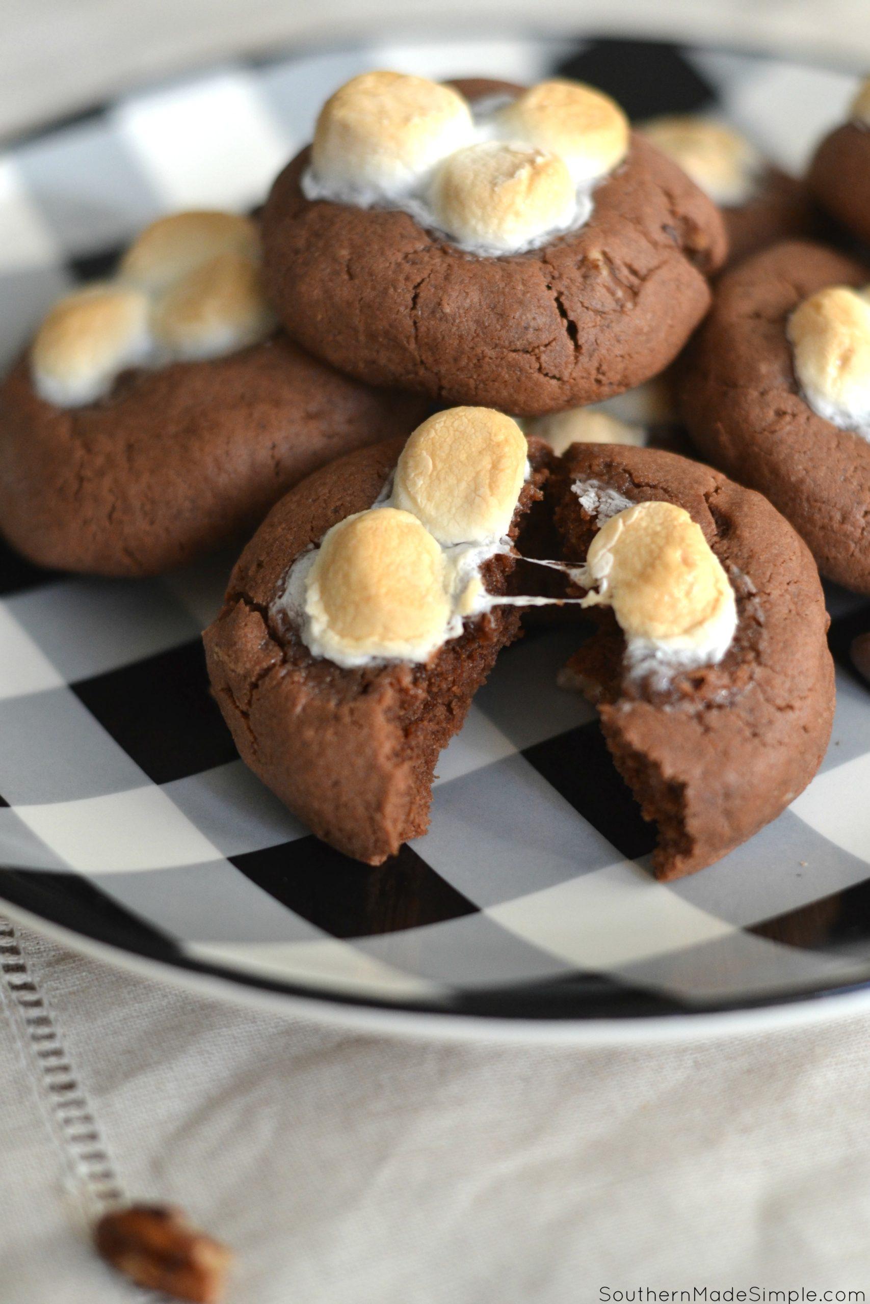 Gluten Free Mississippi Mud Cookies