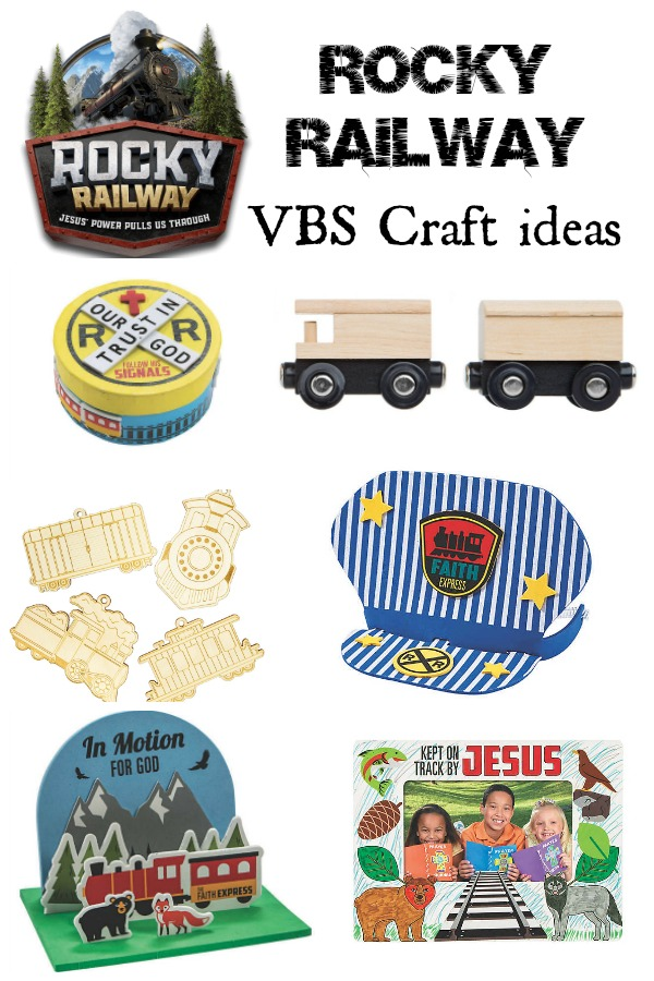 Rocky Railway VBS Craft Ideas