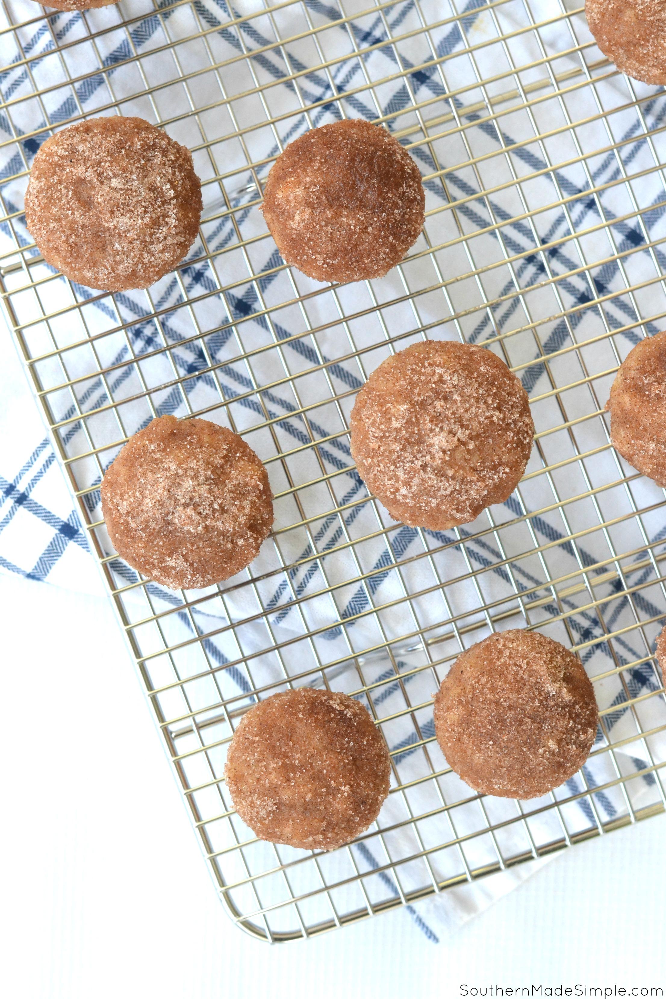 Snickerdoodle Mini Muffins
