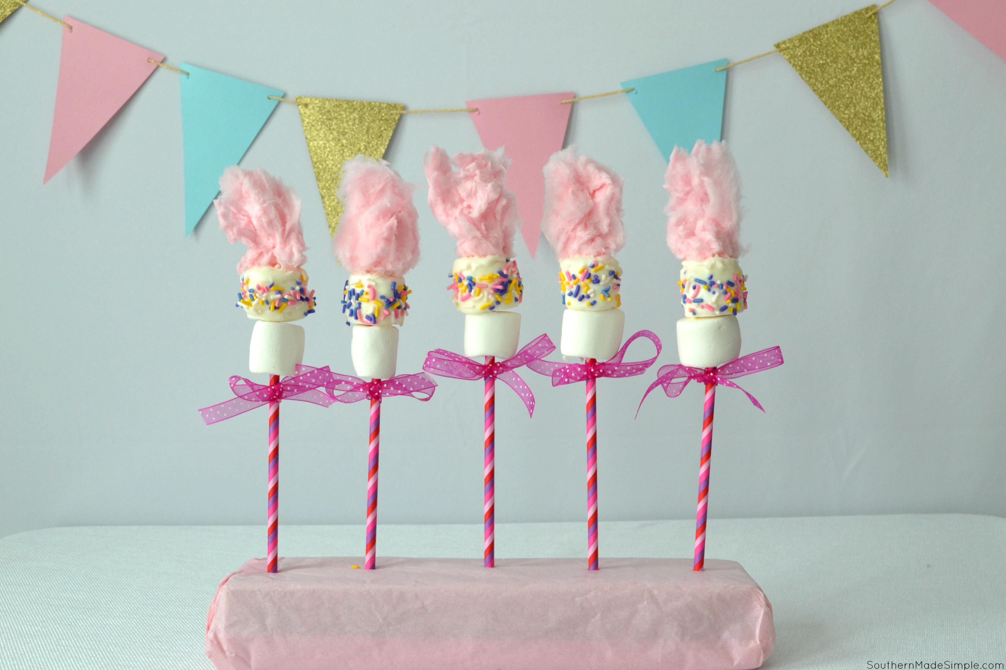 Trolls Marshmallow Pops