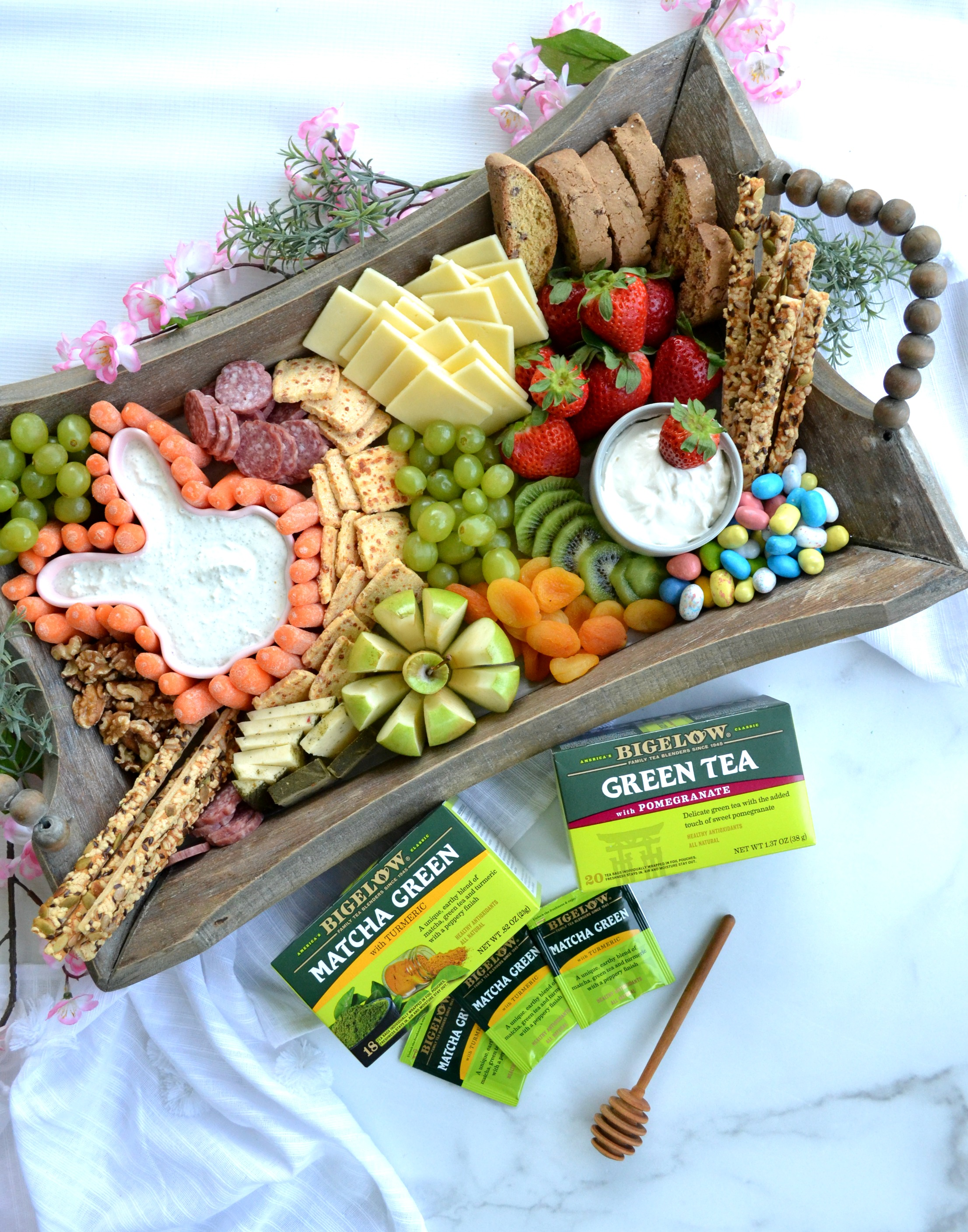 Celebrating Spring Over Tea + Charcuterie Board Ideas