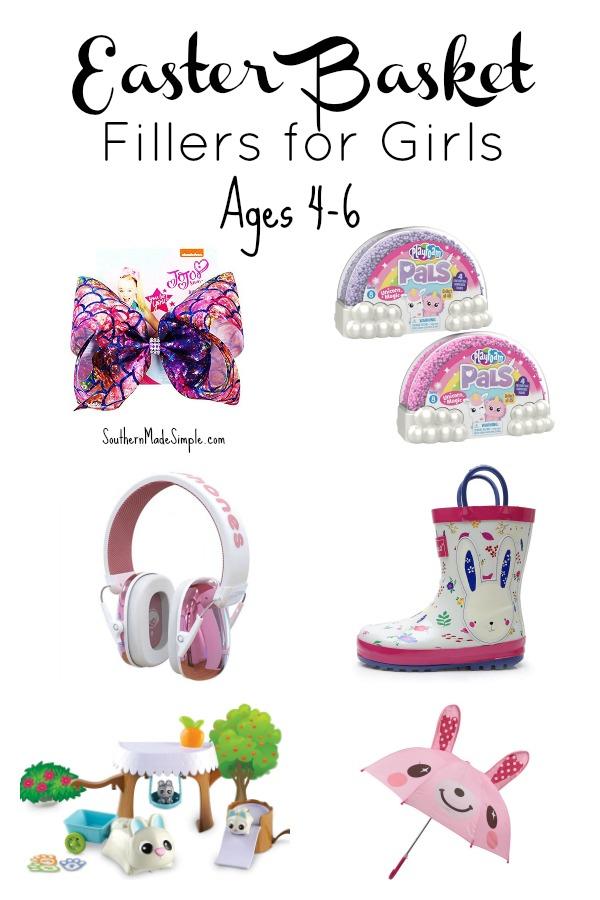 Easter Basket Fillers for Girls Ages 4-6