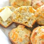 Poppy Seed Cheddar Muffins