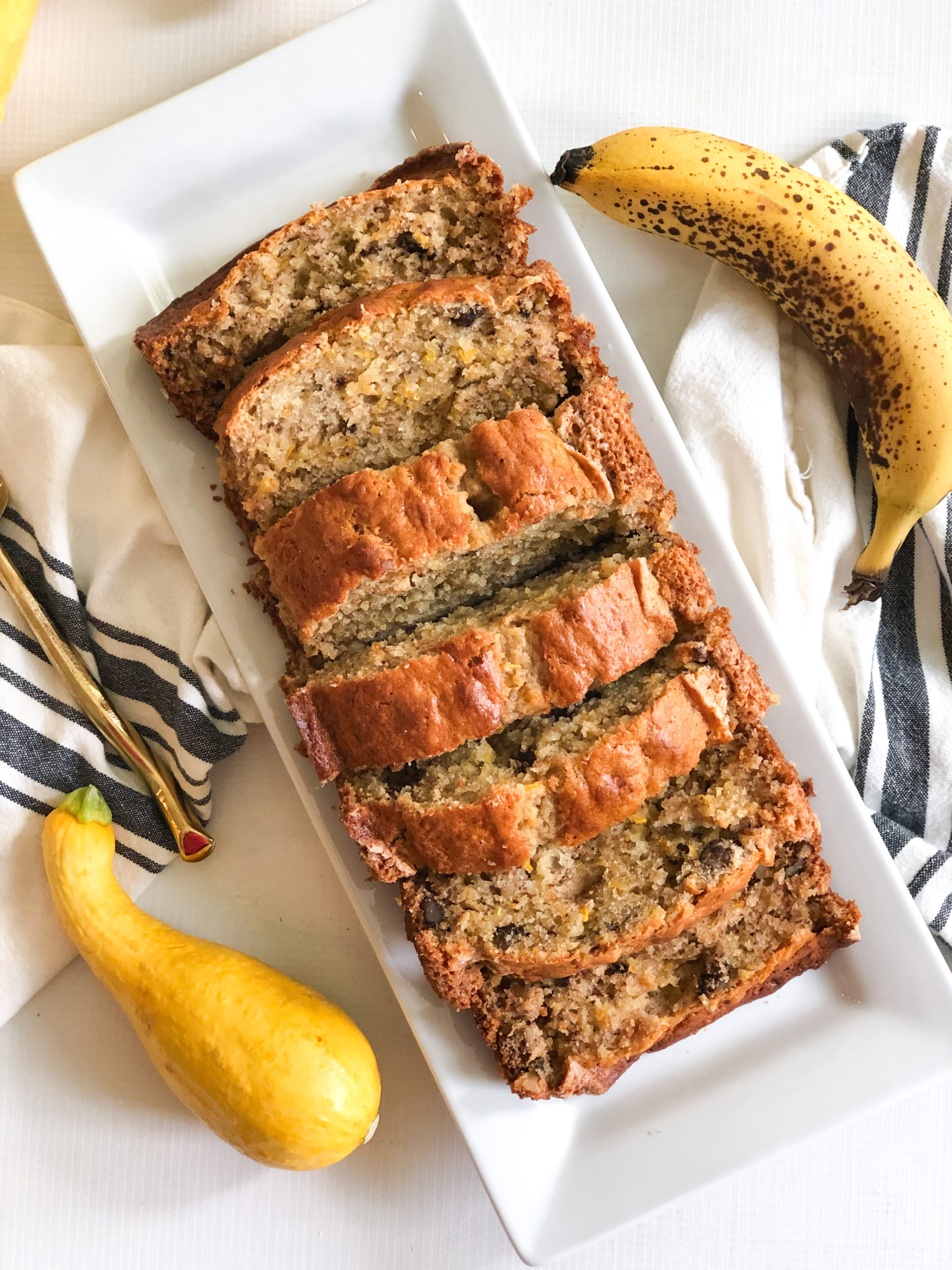 Banana Nut Squash Bread