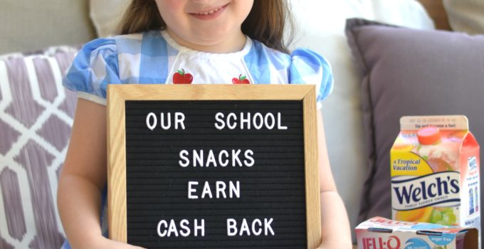 We're Earning Cash Back on Back to School Snacks with Ibotta!
