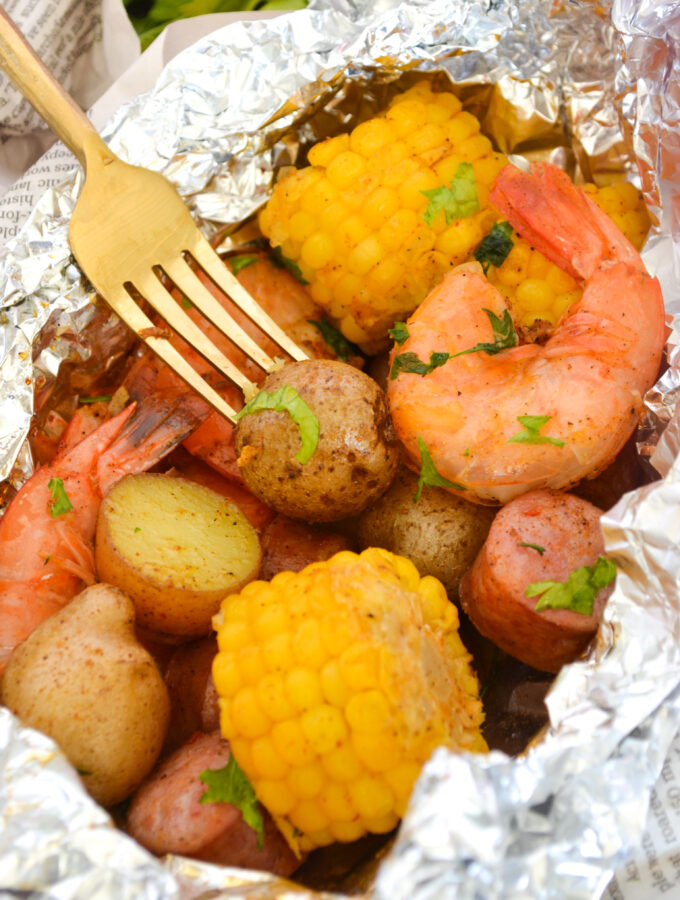 Low Country Boil Foil Packs