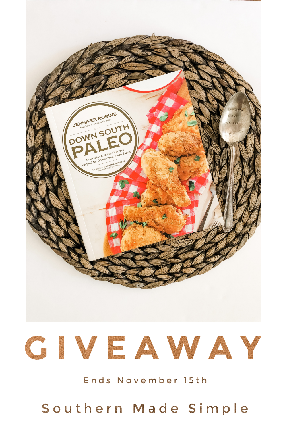 Down South Paleo Cookbook Giveaway!