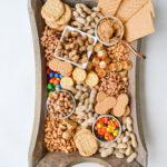Peanut Snack Board