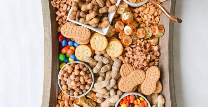 Celebrating National Peanut Month – Peanut Snack Board
