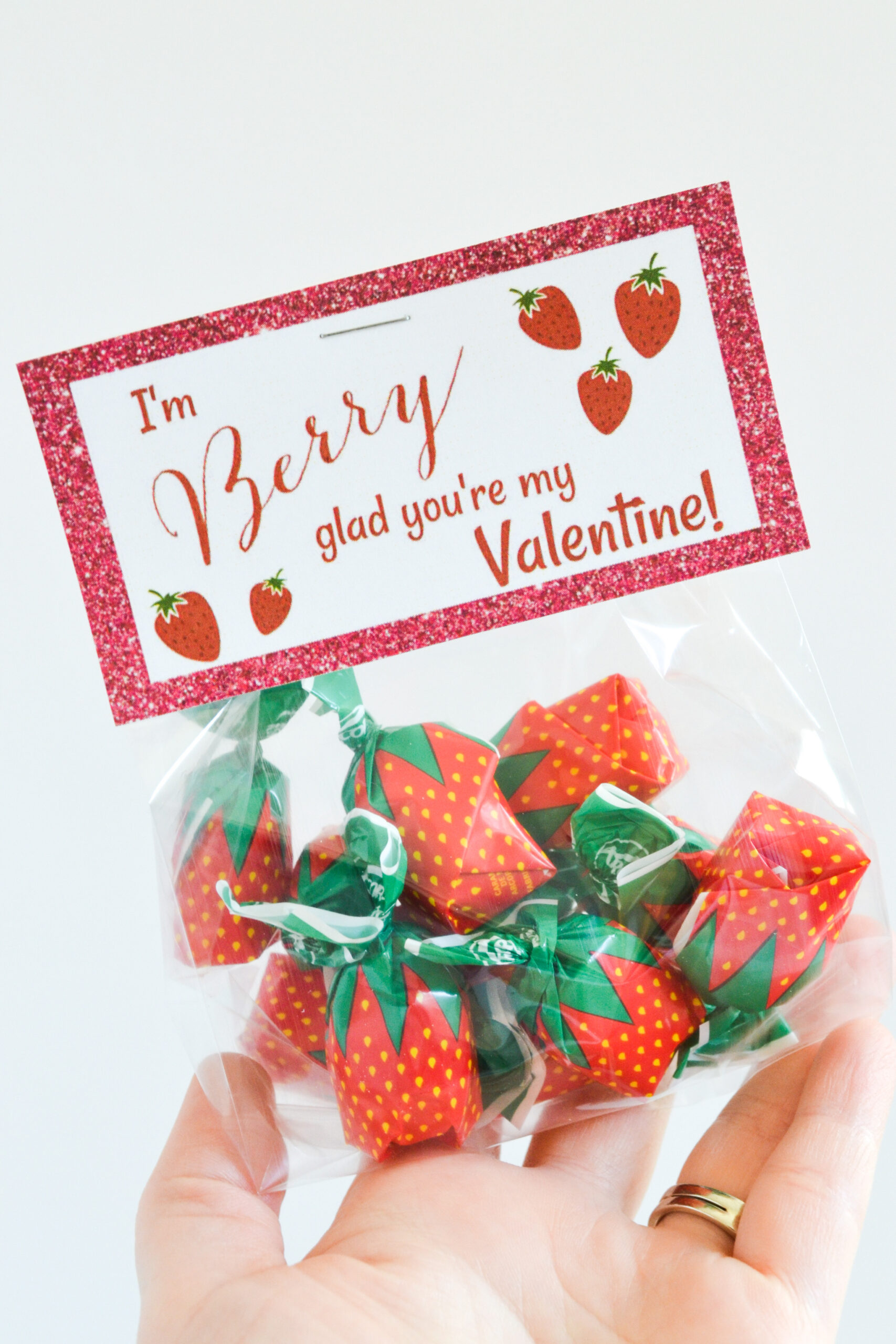 Free Printable: I'm Berry Glad You're My Valentine