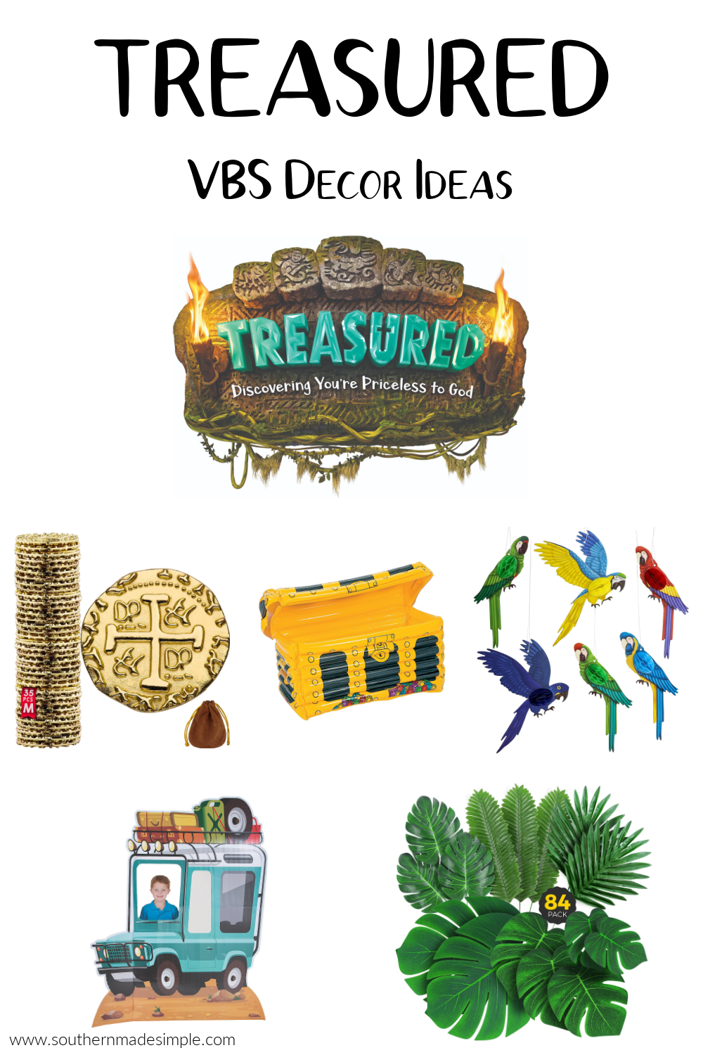 Treasured VBS Decor Ideas