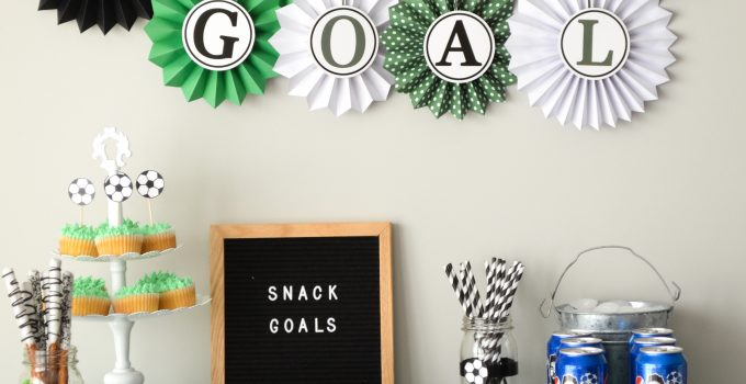 """How to Plan a """"Goal Worthy"""" Soccer Themed Party"""